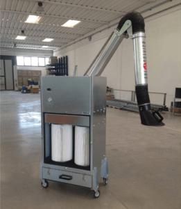 מערכת סינון אוויר ניידת