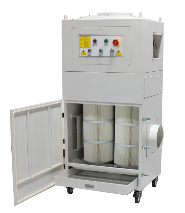 Metal particles extraction