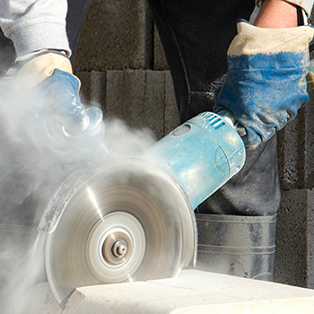 Extraction of dust from manufacturing processes
