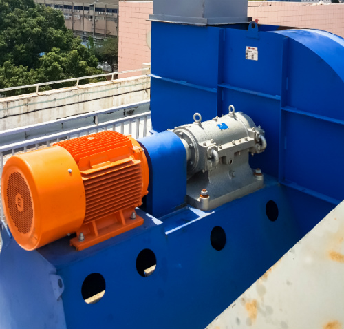 Manufacture and installation of central suction blower
