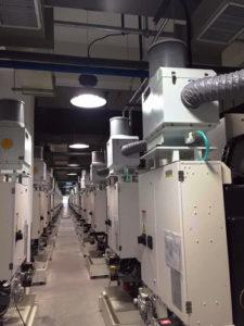 סינון נוזלי קירור ממכונות cnc
